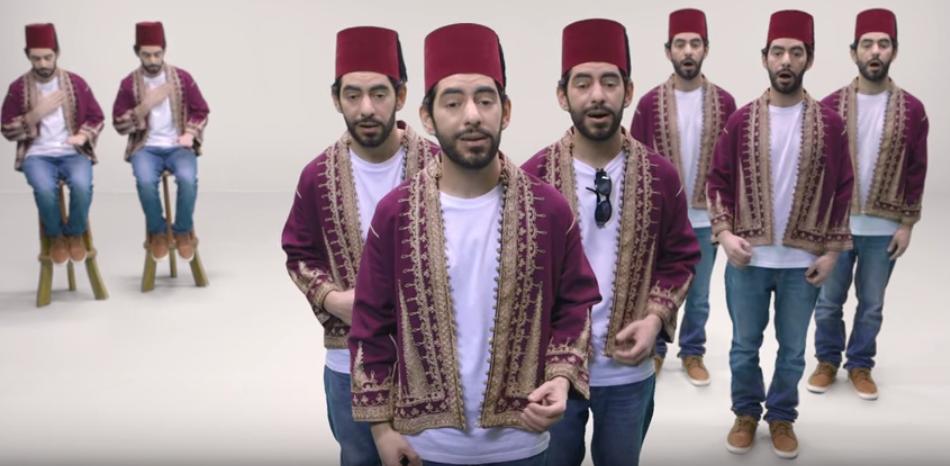 """""""Evolução da Música Árabe"""" de Alaa Wardi"""